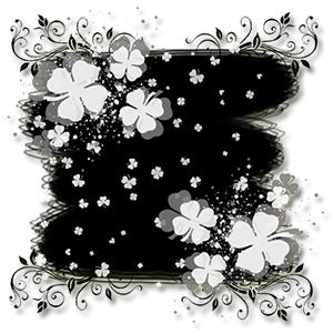 Чёрно-белые открытки