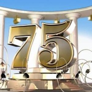 Открытки с Днём Рождения на 75 лет