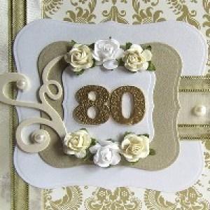 Открытки с Днём Рождения на 80 лет