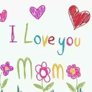 Открытки-рисунки на День Матери