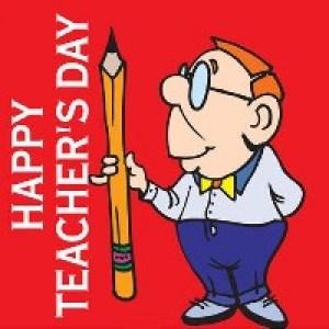 Английские открытки с Днем Учителя