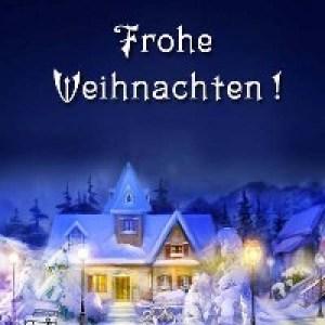Немецкие Рождественские открытки