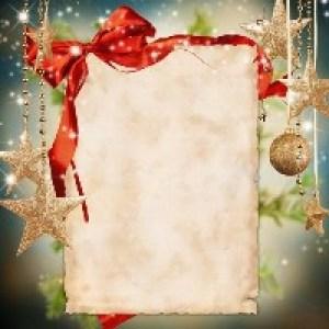 Шаблоны новогодних открыток
