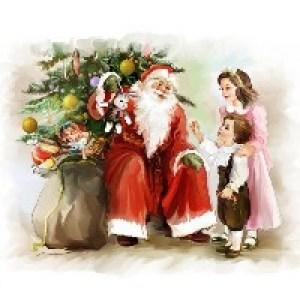 Советские открытки с Рождеством