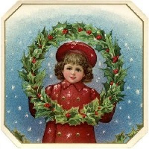 Старинные Рождественские открытки
