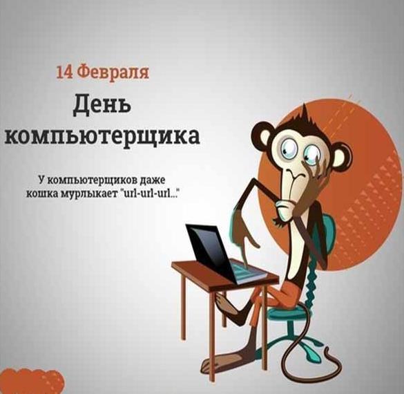 Картинка на 14 февраля день компьютерщика