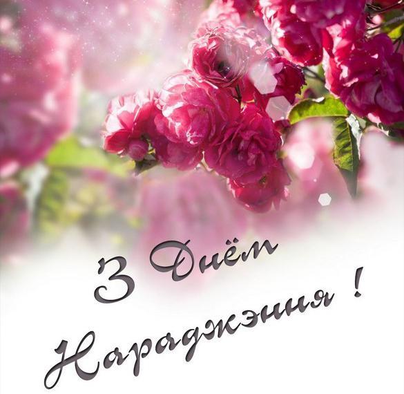 Белорусская открытка с днем рождения