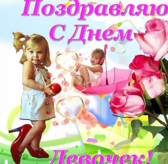 Фото картинка на день девочек