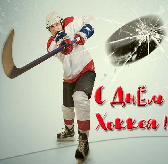 Картинка на день хоккея с поздравлением