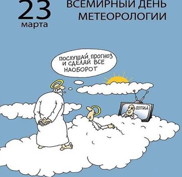 Картинка на день метеоролога с поздравлением с юмором
