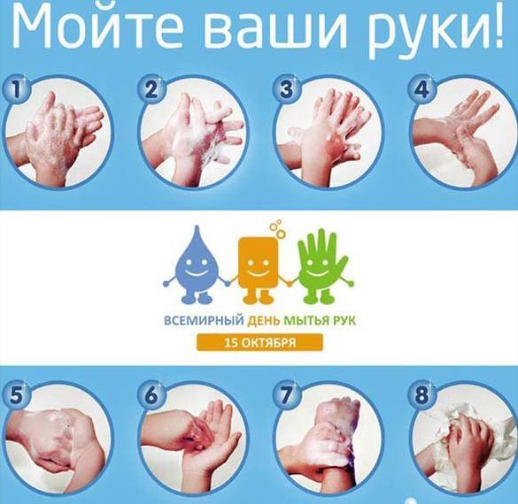Открытка на день мытья рук