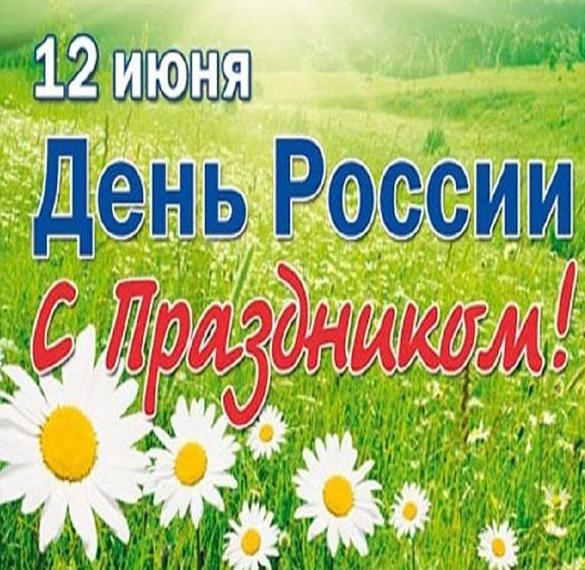 Картинка на день России для детей