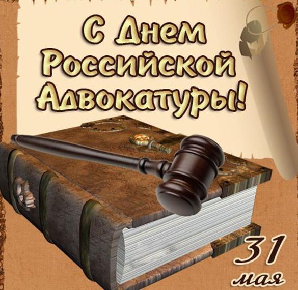 Картинка на день Российской адвокатуры