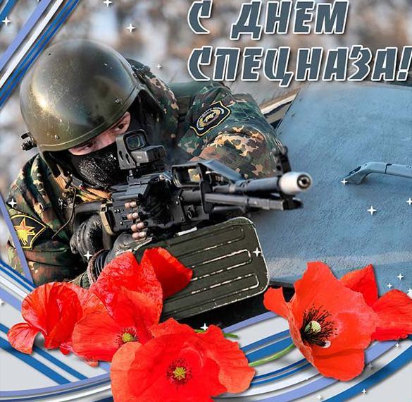 Картинка на день спецназа с поздравлением