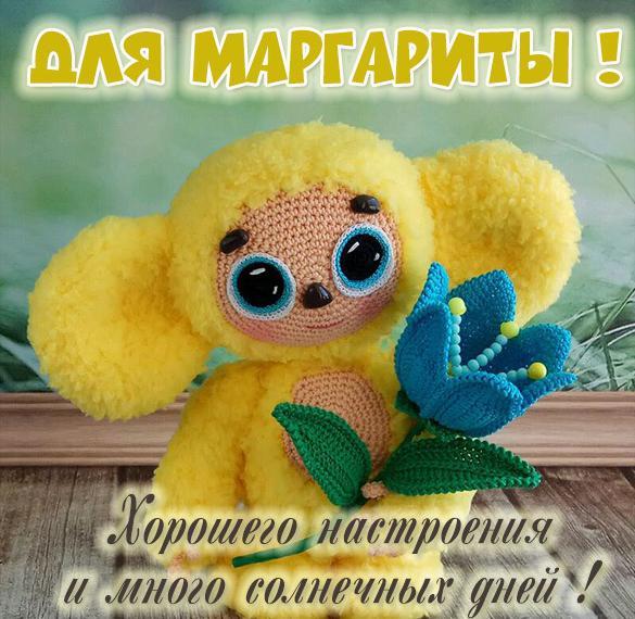 Детская картинка с именем Маргарита