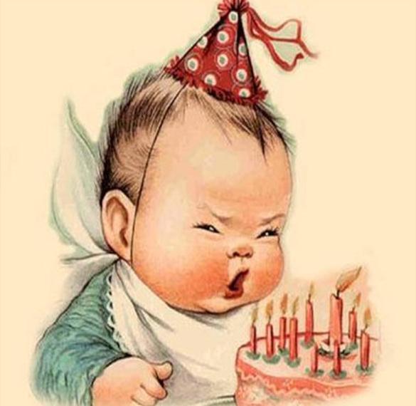 Дореволюционная красивая открытка с днем рождения мужчине