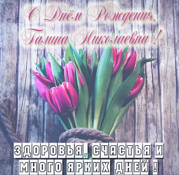 Картинка Галина Николаевна с днем рождения