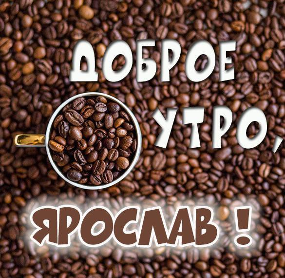 Картинка доброе утро Ярослав