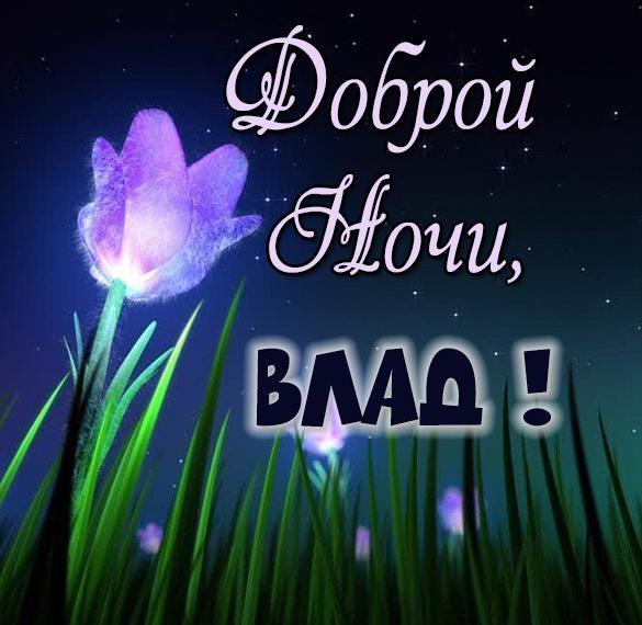 Картинка доброй ночи Влад