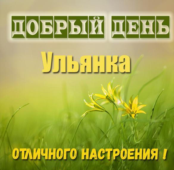Картинка добрый день Ульянка