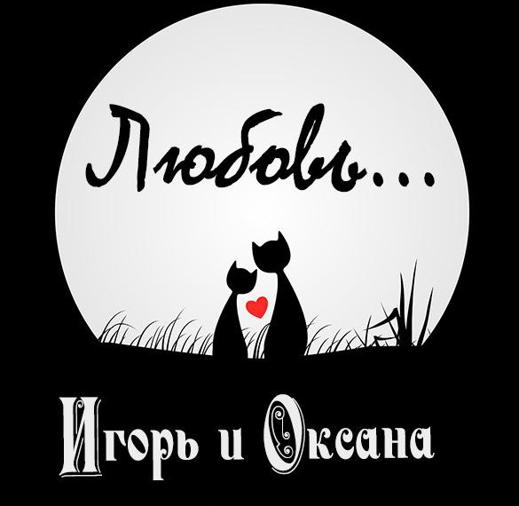 Картинка Игорь и Оксана
