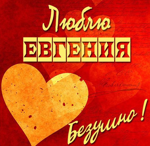 Картинка люблю Евгения
