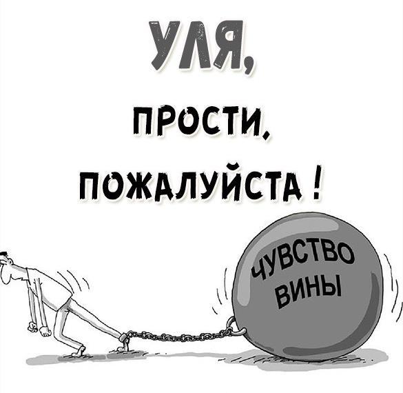 Картинка Уля прости