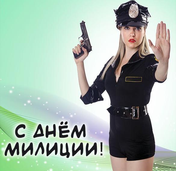 Картинка с днем милиции