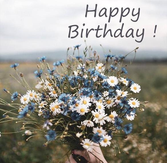 Картинка с днем рождения на английском языке
