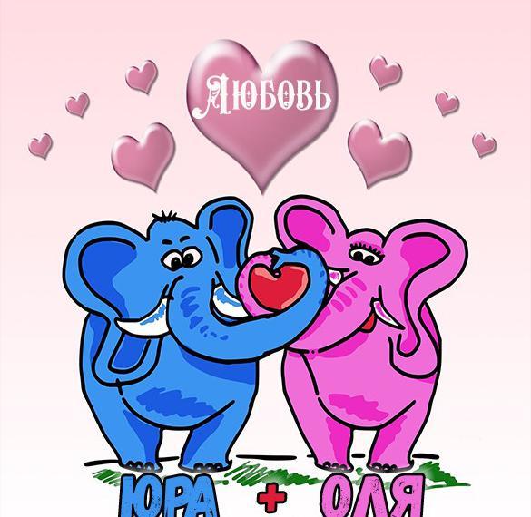 Картинка с именем Юра и Оля