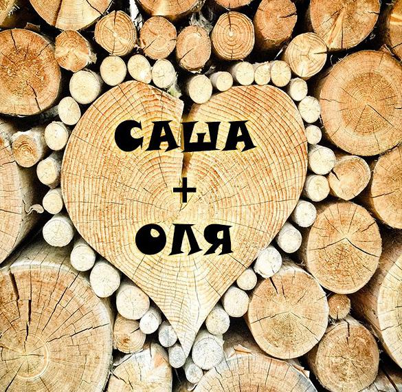 Картинка Саша и Оля