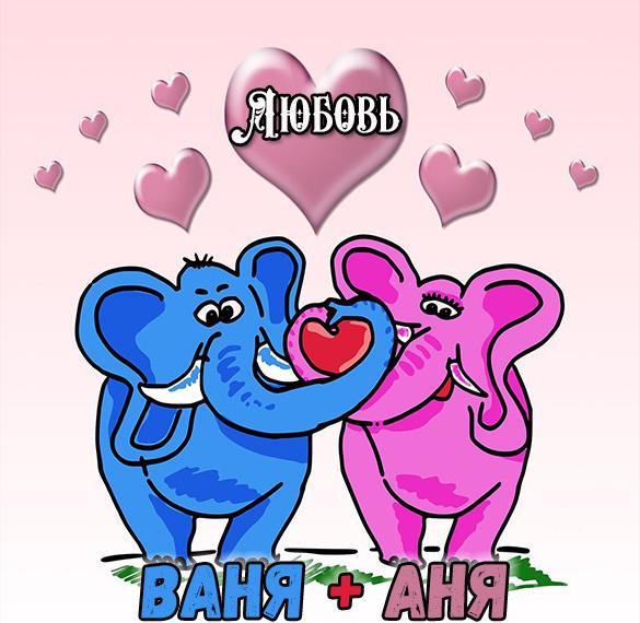 Картинка Ваня и Аня