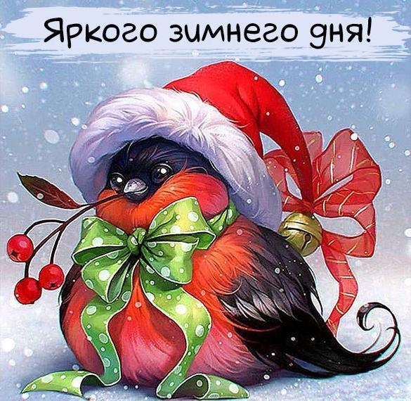 Картинка яркого зимнего дня