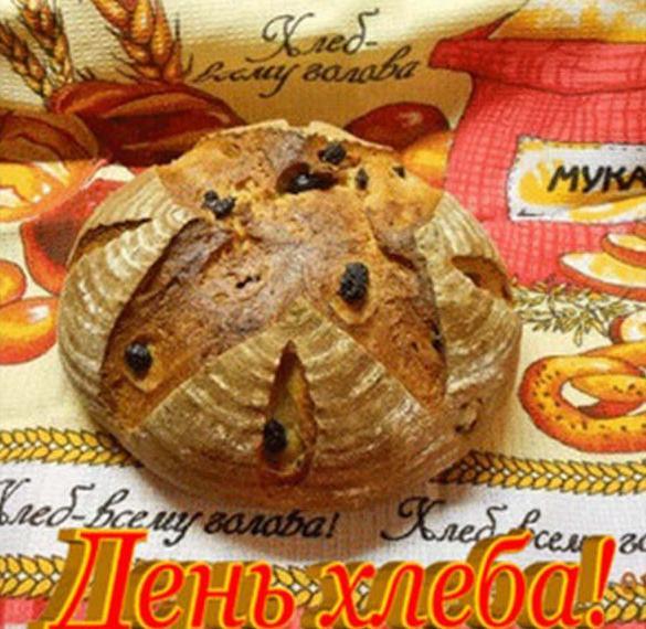 Красивая открытка с днем хлеба