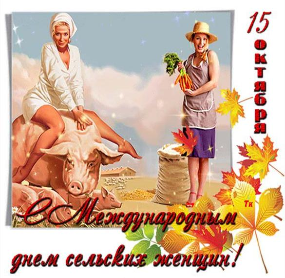 Картинка на международный день сельских женщин