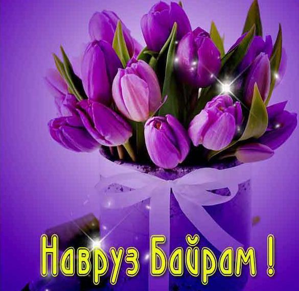 Картинка на Навруз Байрам с поздравлением