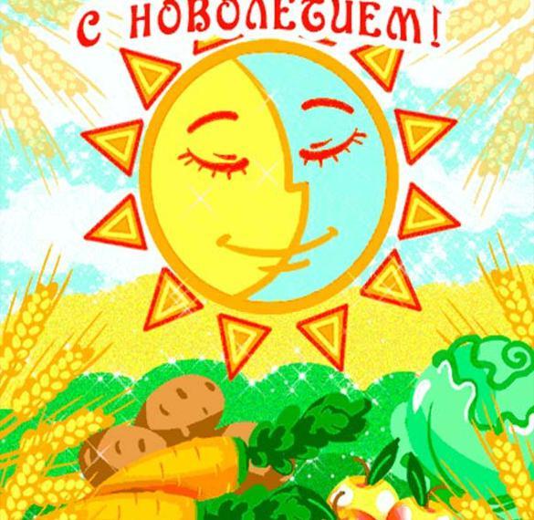 Картинка на Новолетие и славянский Новый год
