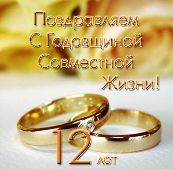 12-let-svadbi-pozdravleniya-otkritki foto 15
