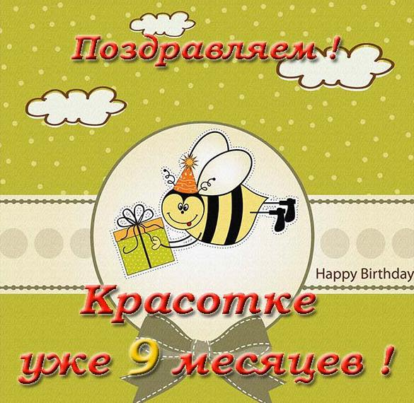 Поздравления с днем рождение с 9 месяцами