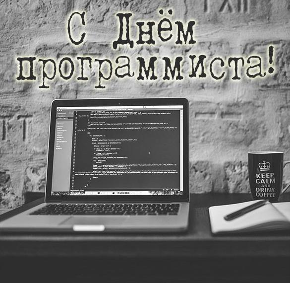 Открытка с днем программиста