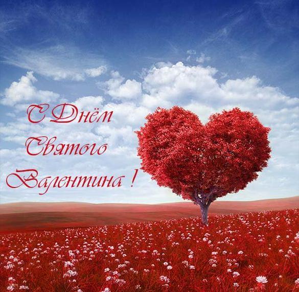 Открытка с днем Валентина для женщин