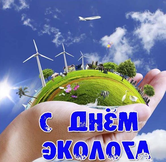 Прикольная картинка на день эколога