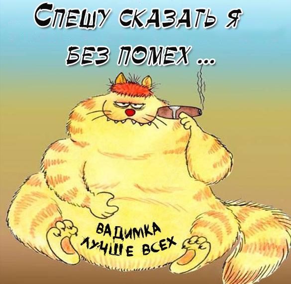 Прикольная картинка про Вадима