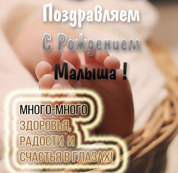 Прикольная картинка с рождением