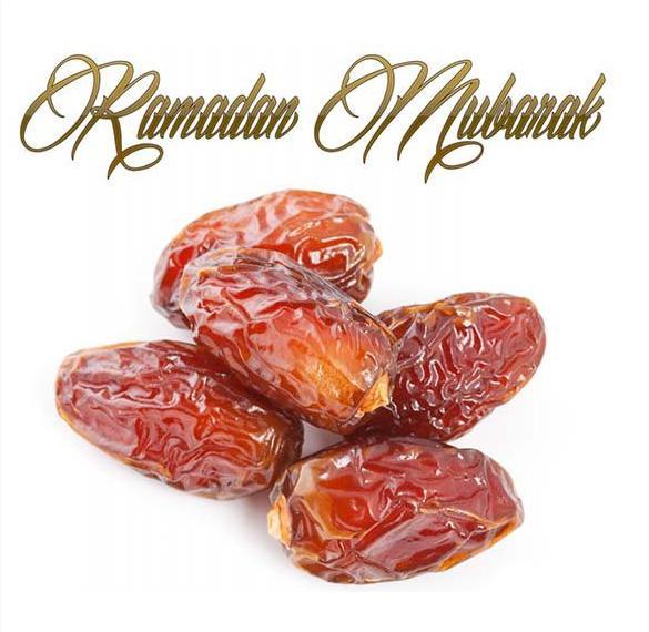 Картинка на Рамадан с финиками