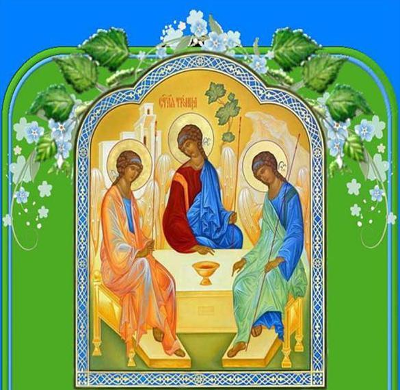 Рисунок на Троицу