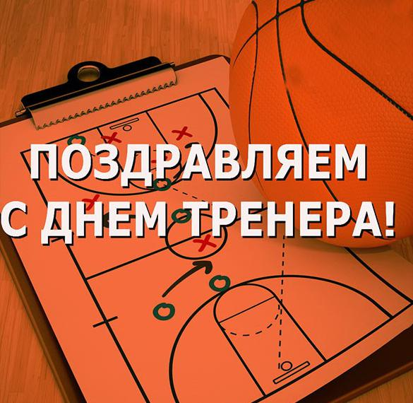 Картинка с днем тренера по баскетболу