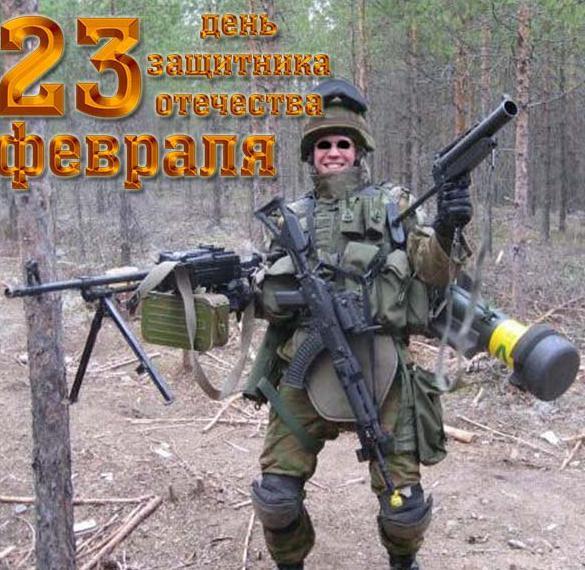 Смешная открытка с днем защитника отечества