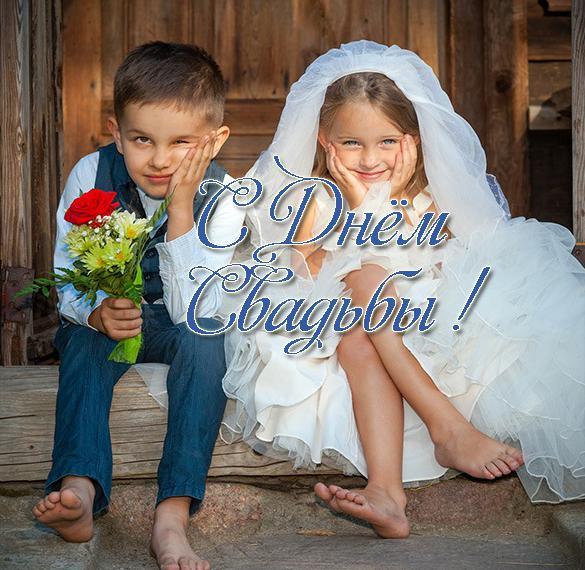 Прикольная виртуальная открытка на свадьбу