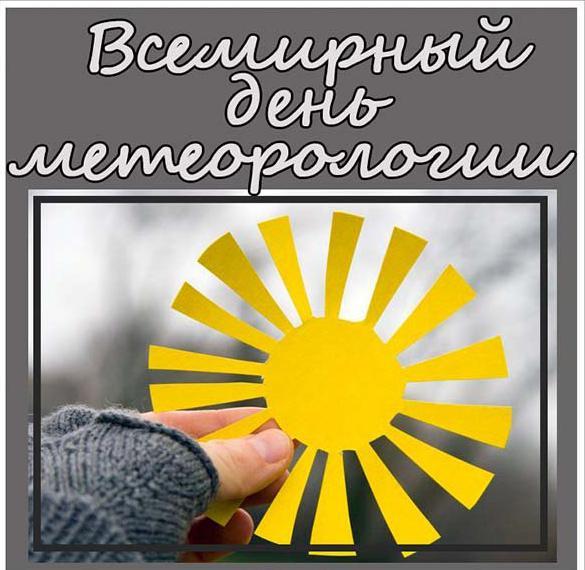 Картинка на всемирный день метеоролога с поздравлением